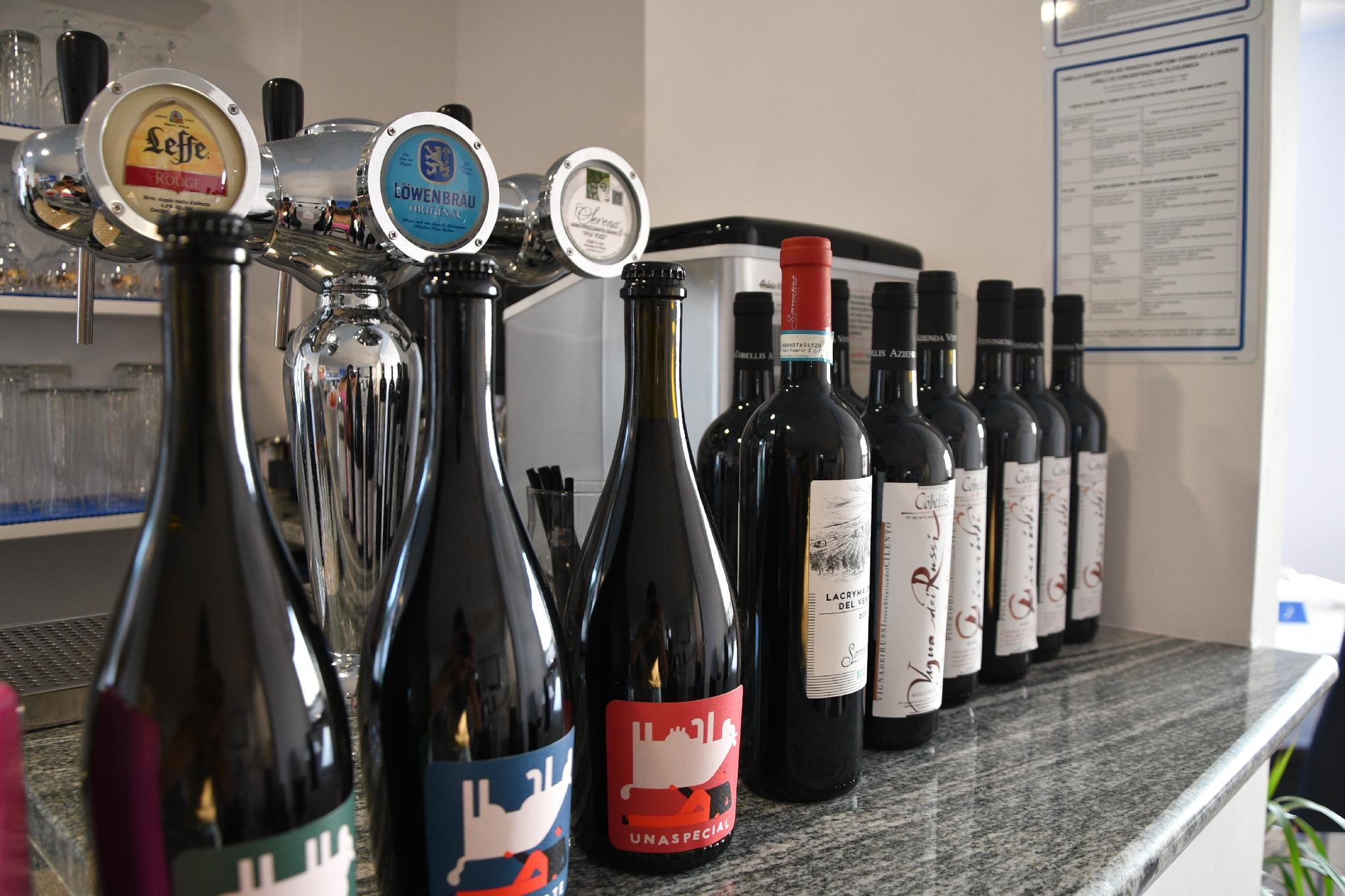 Bar: Vino Birra - Hotel Indaco Hotel Ristorante Pizzeria Casal Velino Marina (Salerno) Cilento