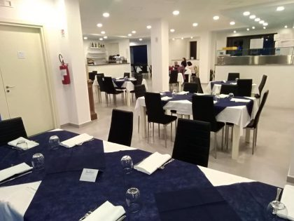 Ristorante: Sala, Hotel Indaco Hotel Ristorante Casal Velino Marina (Salerno) Cilento